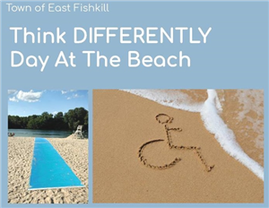 Think Differently Day at the Beach